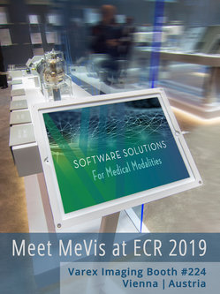 Meet MeVis at ECR 2019 at Varex Imaging booth #224